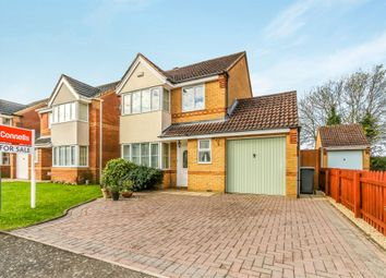 Thumbnail 3 bed detached house for sale in Maple Wood, Rushden