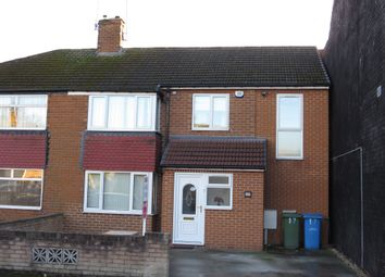 Thumbnail 4 bed semi-detached house for sale in Shelley Street, Worksop