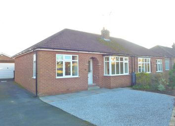 Thumbnail 2 bed semi-detached bungalow for sale in Whitcliffe Crescent, Ripon