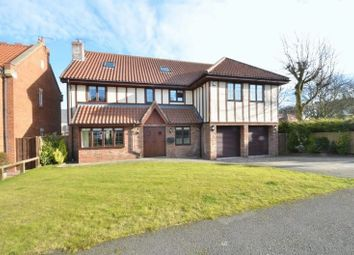 Thumbnail 5 bedroom detached house for sale in The Meadows, Seaton, Seaham