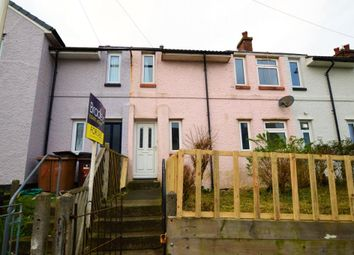 Thumbnail 3 bed terraced house for sale in Crossway Avenue, Plymouth, Devon