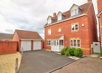 Thumbnail 5 bed detached house for sale in Guestwick Green, Hamilton, Leicester