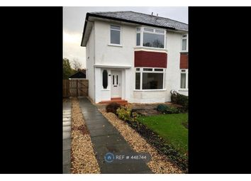 Thumbnail 3 bed semi-detached house to rent in Woodbank Crescent, Glasgow