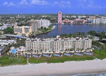 Thumbnail 4 bed town house for sale in 800 S Ocean Boulevard 305, Boca Raton, Fl, 33432