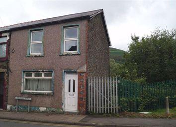 Thumbnail 2 bed end terrace house for sale in Aberdare Road, Mountain Ash