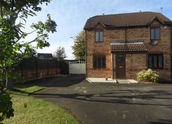 Thumbnail 2 bed semi-detached house for sale in Headingley Way, Edlington, Doncaster