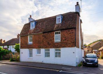 Thumbnail 3 bed semi-detached house for sale in Leigh Road, Hildenborough, Tonbridge