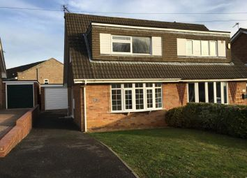 Thumbnail 3 bed semi-detached house to rent in Aintree Road, Northampton