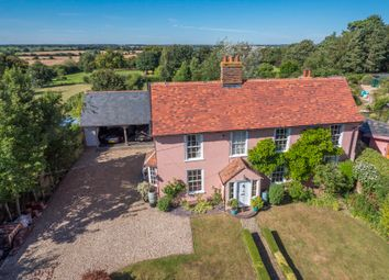 Thumbnail 4 bedroom detached house for sale in Bulmer, Sudbury, Suffolk