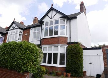 Thumbnail 4 bed semi-detached house to rent in Chestnut Avenue, York, North Yorkshire