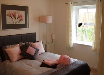 Thumbnail 2 bed flat to rent in Oak Crescent, Ashby-De-La-Zouch, Leicestershire
