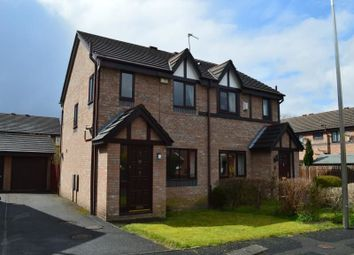 Thumbnail 3 bed semi-detached house to rent in Keele Close, Heaviley, Stockport