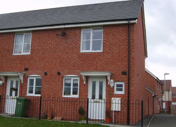 Thumbnail 2 bed end terrace house to rent in Park View, Hereford, Herefordshire