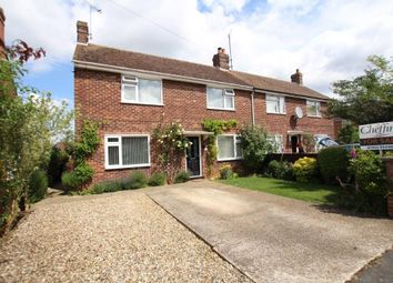 Thumbnail 3 bed semi-detached house for sale in Churchill Close, Ely