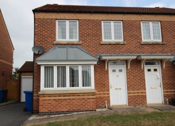 Thumbnail 3 bed semi-detached house to rent in Flinders Way, Cherry Willingham, Lincoln