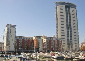 Thumbnail 1 bedroom flat for sale in Meridian Wharf, Maritime Quarter, Swansea