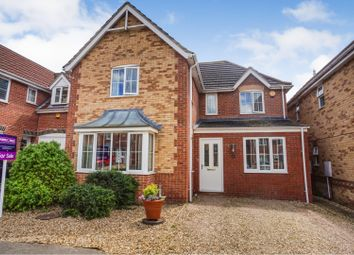 Thumbnail 4 bed detached house for sale in The Chase, Metheringham