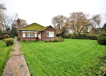 Thumbnail 3 bed detached bungalow for sale in New Road, Terrington St. John, Wisbech