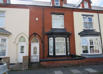 Thumbnail 4 bed terraced house for sale in Collingwood Road, Hartlepool