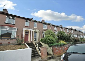 Thumbnail 3 bedroom terraced house to rent in Browning Road, Stoke, Plymouth