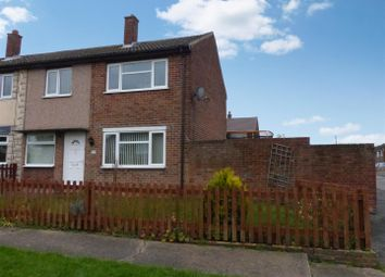 Thumbnail 3 bed end terrace house for sale in Wellwood Road, Newhall, Swadlincote