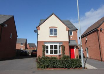 Thumbnail 3 bed detached house for sale in Amber Way, Burbage, Hinckley