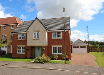 Thumbnail 4 bed detached house for sale in Mellock Crescent, Maddiston, Falkirk
