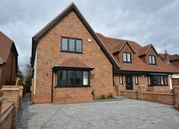 Thumbnail 4 bed semi-detached house for sale in Berther Road, Emerson Park, Hornchurch