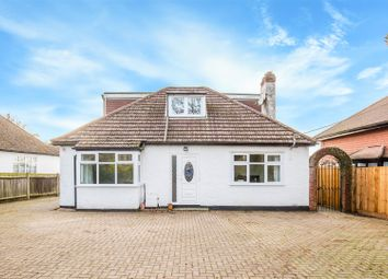 Thumbnail 4 bed detached bungalow for sale in Airport Industrial Estate, Main Road, Biggin Hill, Westerham