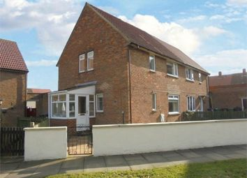 Thumbnail 3 bed semi-detached house for sale in Butler Road, Newton Aycliffe, Durham