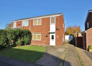 Thumbnail 3 bedroom semi-detached house for sale in Lincoln Avenue, St. Ives, Huntingdon