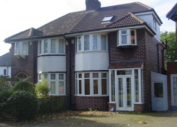 Thumbnail 4 bedroom semi-detached house to rent in Pendragon Road, Perry Barr