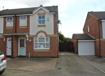 Thumbnail 3 bed semi-detached house for sale in Tristram Close, Leicester Forest East, Leicester