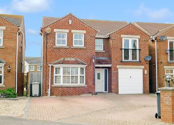 Thumbnail 4 bed detached house for sale in Winston Drive, Skegness