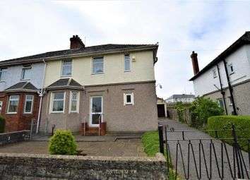 Thumbnail 3 bed semi-detached house to rent in Caradoc Avenue, Barry