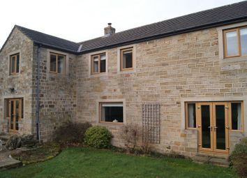 Thumbnail 4 bed barn conversion for sale in Stoney Lane, Woolley Moor, Wakefield