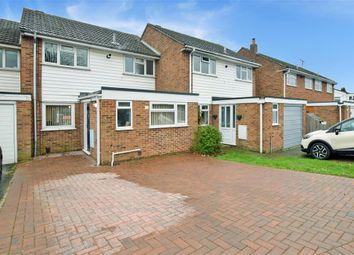 Thumbnail 3 bedroom terraced house for sale in Keats Road, Poets Development, Larkfield, Kent