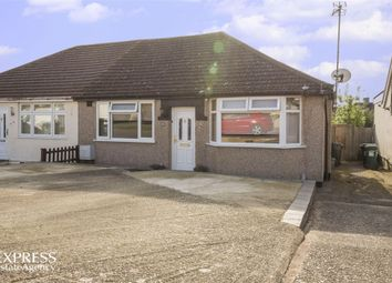 Thumbnail 2 bed semi-detached bungalow for sale in Penrose Avenue, Watford, Hertfordshire