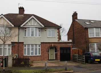Thumbnail 3 bed semi-detached house to rent in Kingsbrook Road, Bedford
