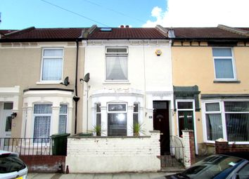 Thumbnail 2 bed terraced house to rent in Chesterfield Road, Portsmouth, Hampshire