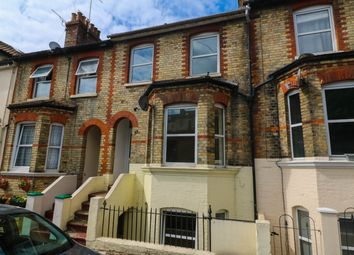 Thumbnail 3 bedroom terraced house for sale in Bradstone Road, Folkstone