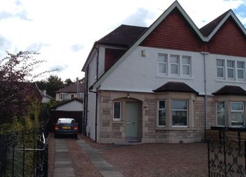 Thumbnail 3 bedroom property for sale in Glasgow Road, Paisley