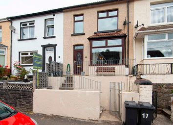 Thumbnail 3 bed terraced house for sale in Hylton Terrace, Bedlinog, Treharris