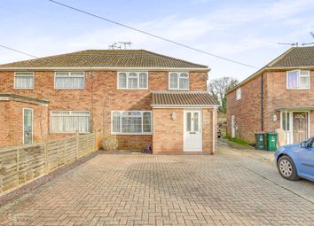 Thumbnail 3 bed semi-detached house for sale in Burlands, Crawley