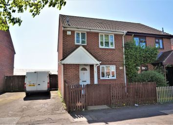 Thumbnail 3 bed semi-detached house for sale in Camborne Avenue, Romford