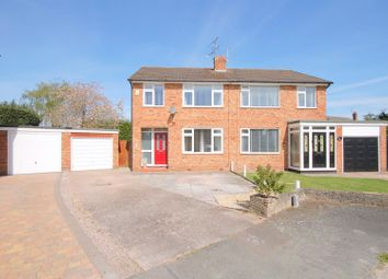 Thumbnail 3 bed semi-detached house for sale in Arundel Close, Wistaston, Crewe