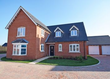 Thumbnail 4 bedroom detached house for sale in High Street, Sherington, Newport Pagnell