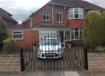 Thumbnail 3 bed semi-detached house for sale in St. Julien Gardens, High Heaton, Newcastle Upon Tyne
