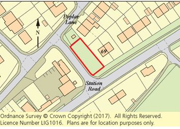 Thumbnail Land for sale in Land Adj. 69 Station Road, Lydd, Romney Marsh, Kent