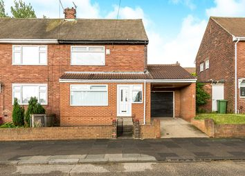 Thumbnail 2 bed semi-detached house for sale in Tadcaster Road, Thorney Close, Sunderland